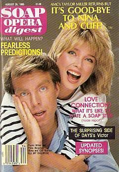 Soap Opera Digest August 26, 1986