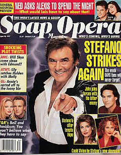 Soap Opera Magazine August 26, 1997