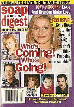 Soap Opera Digest Aug. 27, 2002