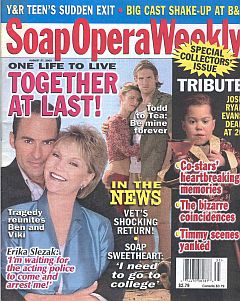 Soap Opera Weekly August 27, 2002