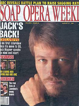Soap Opera Weekly August 27, 1991