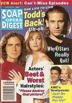 Soap Opera Digest - August 27, 1996