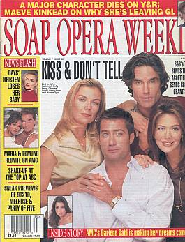 Soap Opera Weekly August 27, 1996