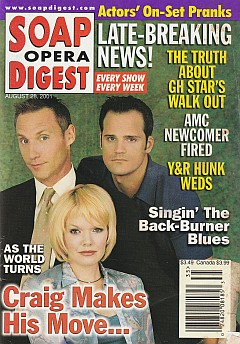Soap Opera Digest Aug. 28, 2001