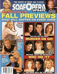 Soap Opera Update August 28, 2001