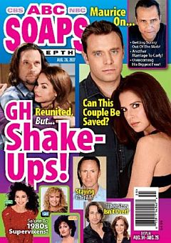 August 28, 2017 issue of ABC Soaps In Depth magazine