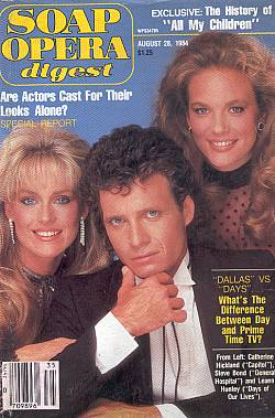 August 28, 1984 Soap Opera Digest