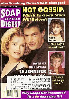 Soap Opera Digest - August 2, 1994