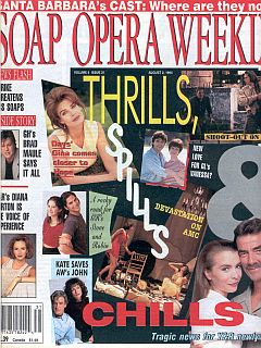 Soap Opera Weekly August 2, 1994