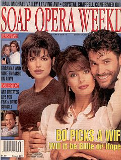 Soap Opera Weekly August 29, 1995