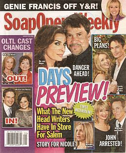 Soap Opera Weekly - August 30, 2011