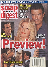 Soap Opera Digest Aug. 3, 2004