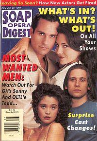 Soap Opera Digest - August 30, 1994