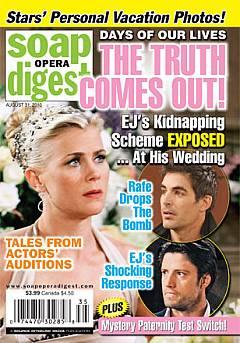 Soap Opera Digest August 31, 2010
