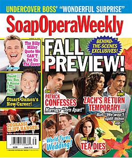 Soap Opera Weekly August 31, 2010