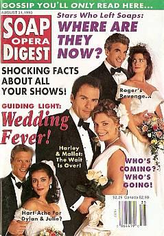 Soap Opera Digest August 31, 1993