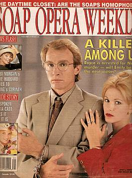 Soap Opera Weekly August 3, 1993