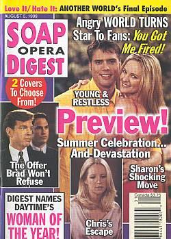 Soap Opera Digest - August 3, 1999