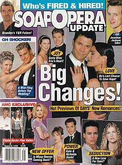 Soap Opera Update August 3, 1999