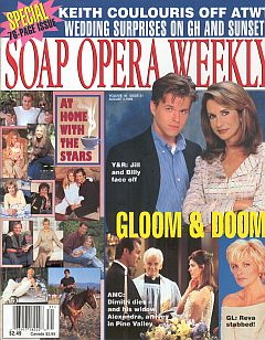 Soap Opera Weekly August 3, 1999