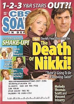 CBS Soaps In Depth August 4, 2008