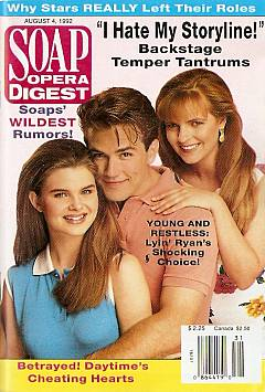 August 4, 1992 Soap Opera Digest