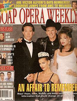 Soap Opera Weekly August 4, 1998