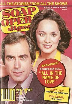 August 5, 1980 issue of Soap Opera Digest