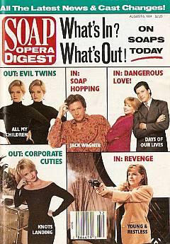 Soap Opera Digest August 6, 1991