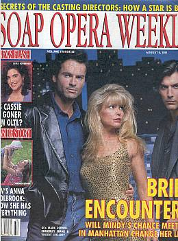 Soap Opera Weekly August 6, 1991