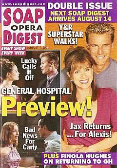 Soap Opera Digest Aug. 7, 2001
