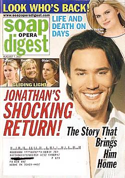Soap Opera Digest Aug. 7, 2007