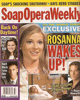 Soap Opera Weekly August 7, 2007