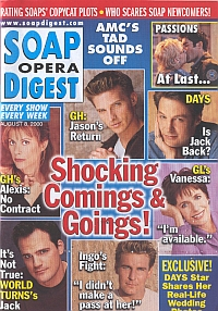 Soap Opera Digest - August 8, 2000