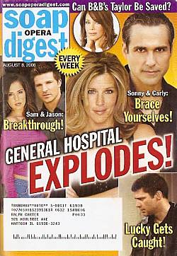 Soap Opera Digest Aug. 8, 2006