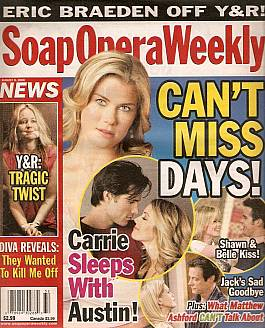 Soap Opera Weekly August 8, 2006
