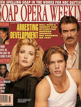Soap Opera Weekly August 8, 1995