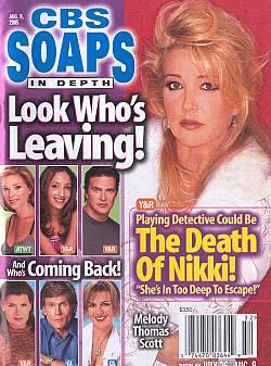 CBS Soaps In Depth August 9, 2005