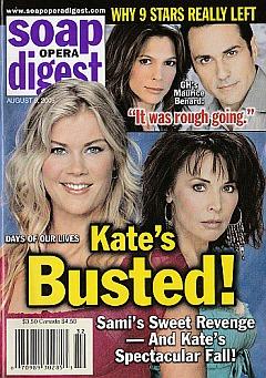Soap Opera Digest Aug. 9, 2005
