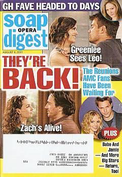 Soap Opera Digest August 9, 2011
