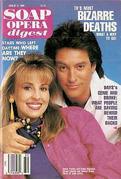 Soap Opera Digest August 9, 1988