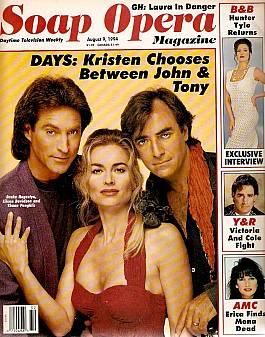 Soap Opera Magazine August 9, 1994