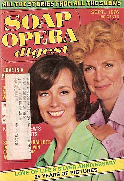 September 1976 issue of Soap Opera Digest