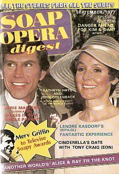 Soap Opera Digest September 1977