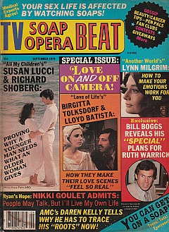 TV Soap Opera Beat September 1979