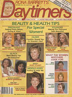 Rona Barrett's Daytimers September 1980