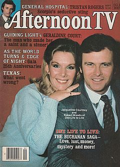 September 1981 issue of Afternoon TV soap opera magazine