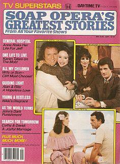 Soap Opera's Greatest Stories September 1981