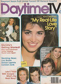 September 1982 issue of Daytime TV soap opera magazine