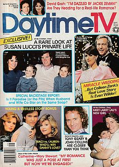 September 1983 issue of Daytime TV soap opera magazine